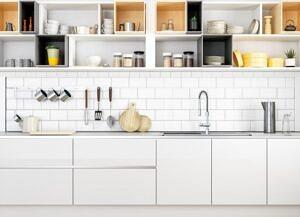 a beatutiful kitchen cabinet